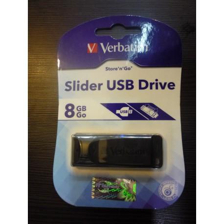فلش مموریVerbatim  slider 8G USB2