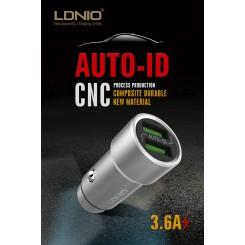 شارژر فندکی LDNIO USB C302
