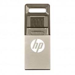فلش مموری اچ پی مدل وی 510 با ظرفیت 16 گیگابایت HP v510 16GB OTG USB 2.0 Flash Memory