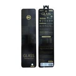 قاب ژله ای و گلس سه بعدی اورجینال آیفون برند دابلیو کی WK GLASS iphone 7 PLUS