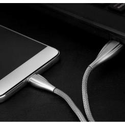 کابل شارژ تایپ سی متال راک Rock Metal USB Type-C