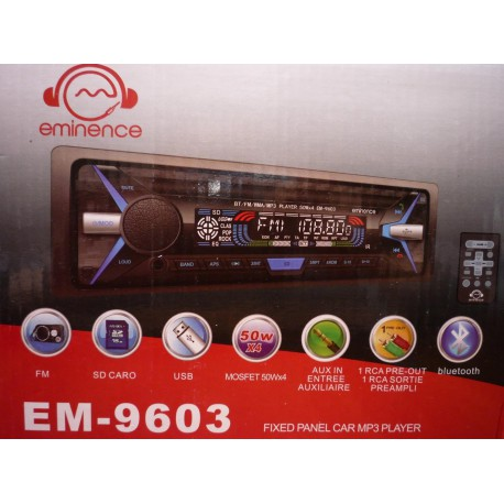 ضبط ماشین بلوتوثی eminence EM-9603