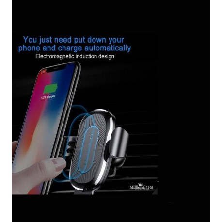 پایه نگه دارنده گوشی و وایرلس شارژر موبایل باسئوسHeuki Gravity & Charger Wireless