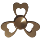 اسپینر فلزی مدل گلبرگ