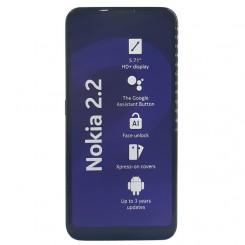 گوشی موبایل Nokia 2.2 با ظرفیت 32 گیگابایت و رم 3GB