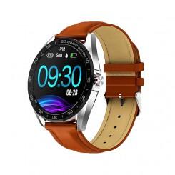 ساعت هوشمند باکی K7 با بند چرمی