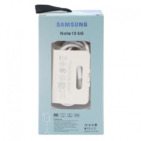 کابل اورجینال فست شارژ Samsung Note 10 Type-C TO Type-C 1m پکدار