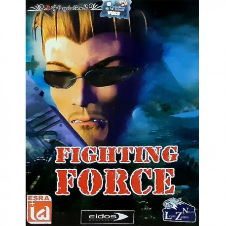 بازی FIGHTING FORCE مخصوص PS2