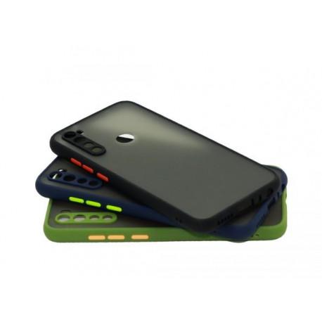 گارد محافظ لنزدار سیلیکونی پشت مات گوشی شیائومی Note 8