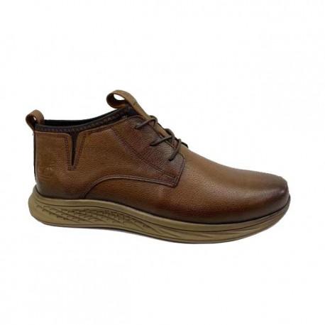 کفش چرم مردانه ساده و شیک با زیره ترمو کد 473