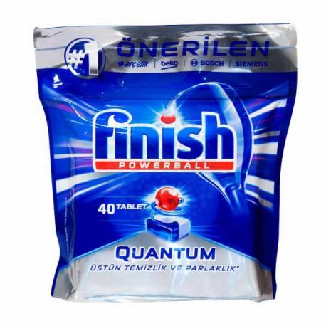 قرص ماشین ظرفشویی فینیش کوانتوم بسته 40 عددی