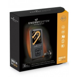 Energy Sistem Energy MP4 Slim 3 Dark Iron