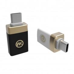 تبدیل USB 2.0 To Type-C برند WK