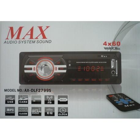 ضبط ماشین مکس MAX AX-DLF27995