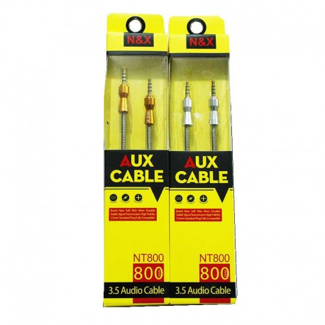 کایل صدا اسپریل فنری مدل AUX CABLE NT800