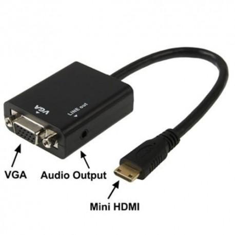کابل تبدیل پورت اچ دی ام آی به وی جی آ HD CONVERSION CABLE