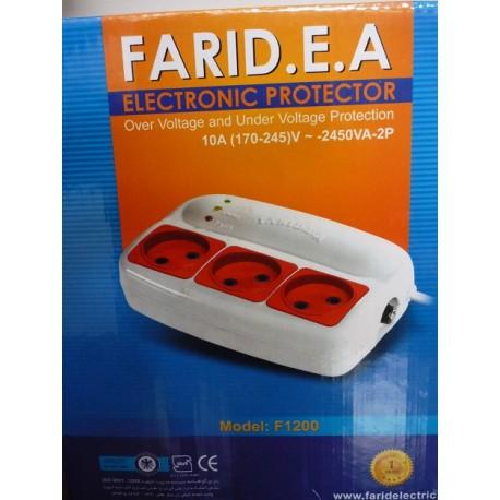 محافظ برق فیوزدار سه خانه فرید الکتریک
