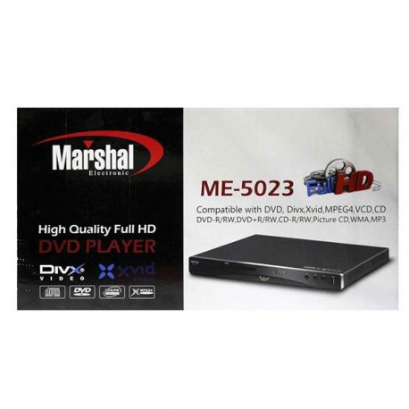 دی وی دی پلیر خانگی مارشال اچ دی مدل ام ای5023 DVD PLAYER MARSHAL ME 5203