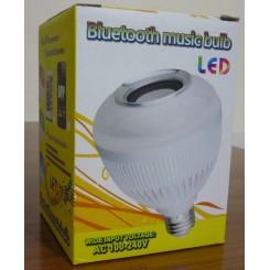 لامپ ال ای دی اسپیکر دار بلوتوثی ( 6 وات) Bluetooth music bulb