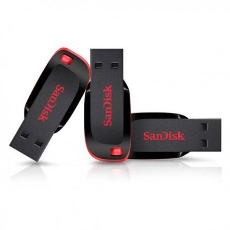 فلش مموری سن دیسک 32گیگ SanDisk Cruzer Blade