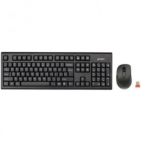 کیبورد و ماوس بی سیم ای فورتک A4tech Wireless Keyboard+Mouse 7100N