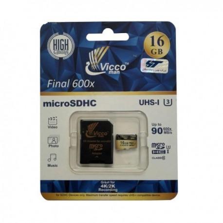 رم میکرو 16 گیگ Vicco Man 600X 16G
