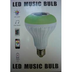 لامپ ال ای دی اسپیکر دار بلوتوثی ( 7 وات ) Bluetooth music bulb