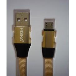 کابل شارژمیکرو USB هیسکا Hiska LX-13A