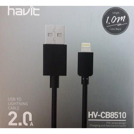 کابل شارژ لایتنینگ هویت (1متری ) havit HV-CB8510