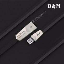 کابل شارژ میکرو USB سر فلزی ام اند دی M&D