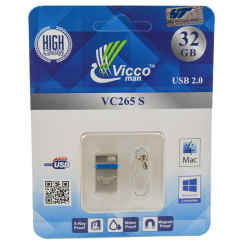 فلش مموری 32 گیگ vicco man 32GB VC265 S