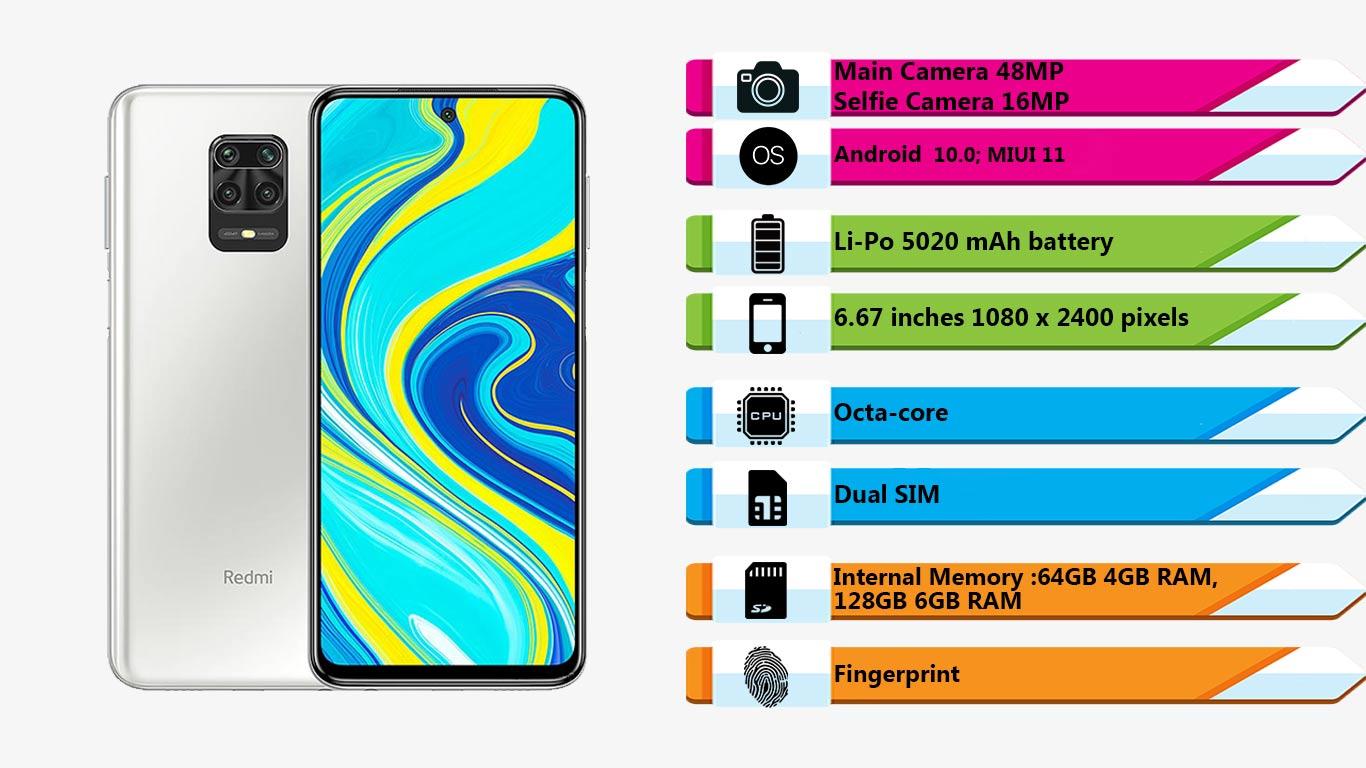 گوشی شیائومی Note 9S (64GB)|فروشگاه اینترنتی Digi2030