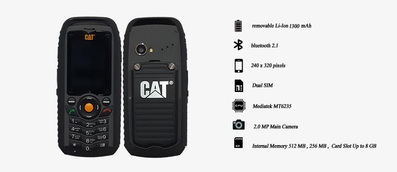 جعبه گشایی گوشی ضد ضربه و ضد آب Cat B-25 | مجله اینترنتی دیجی 2030
