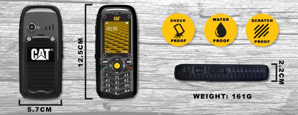 جعبه گشایی گوشی ضد ضربه Cat B-25 | مجله اینترنتی دیجی 2030